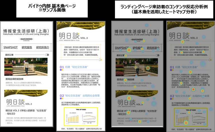 バイドゥ内部ランディングページ作成ツール「基ジー木魚ムーユー」を応用した顧客接点・体験開発